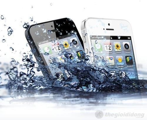 iPhone bị rớt nước