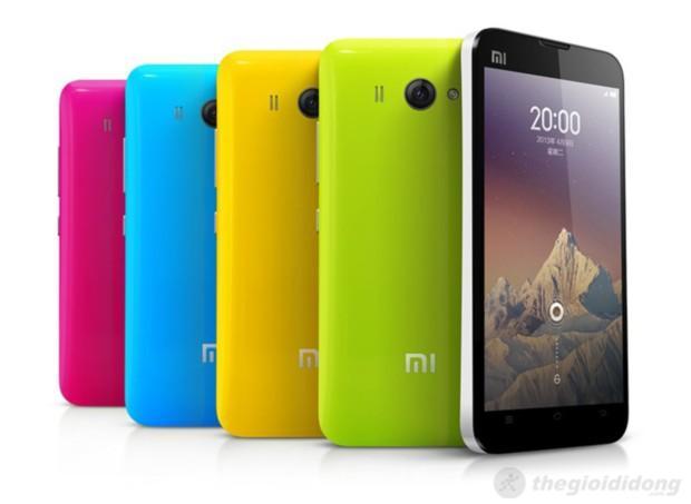 Xiaomi Phone 2S - đa dạng về màu sắc và cấu hình