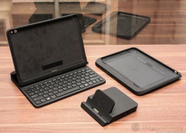 HP ElitePad 900 với đầy đủ phụ kiện