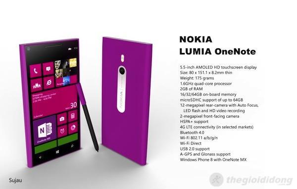 Lumia phablet sẽ có tên là Lumia Note?