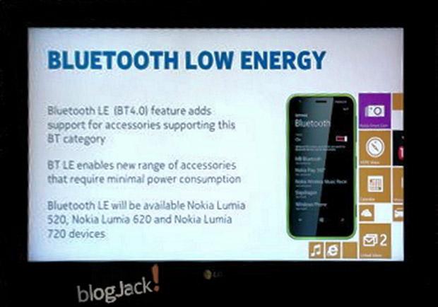 Amber sẽ hỗ trợ Bluetooth 4.0, đặc biệt là ít tiêu hao năng lượng hơn