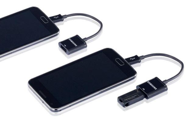 Smartphone đọc USB qua USB OTG