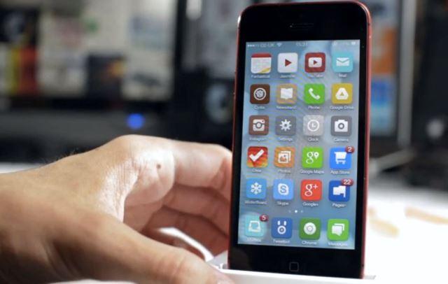 iphone chạy ios 7