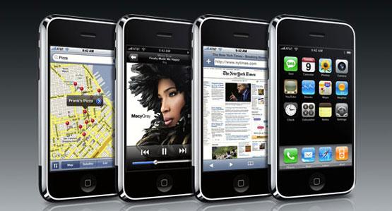 Lịch sử iOS – Kì 1: iOS 1 và sự ra đời của iPhone 2g