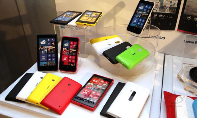 Gia đình nhà Lumia đã đạt mức giá rất cạnh tranh so với các đối thủ