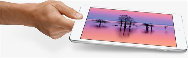 iPad mini 2 được trang bị màn hình Retina