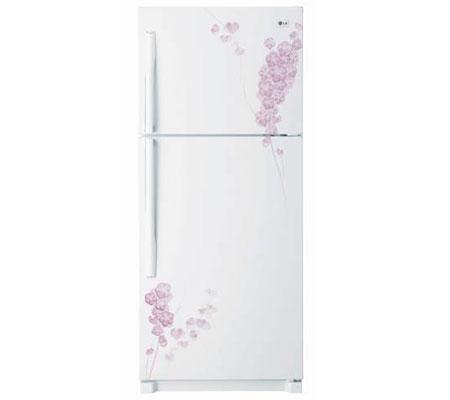 Tủ lạnh LG GN-185PG 185 lít Ngăn đá trên 2 cửa - Trắng hoa văn