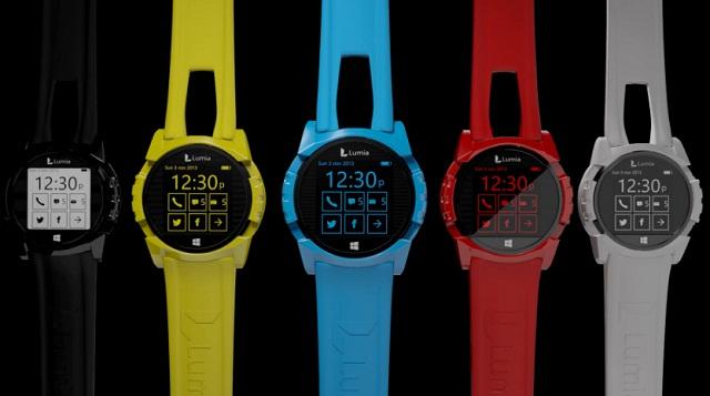Nokia Lumia Smartwatch tuyệt đẹp chạy Windows Phone