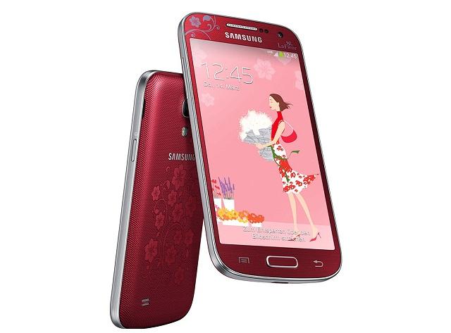 Samsung ra mắt Galaxy S4 mini phiên bản hoa văn