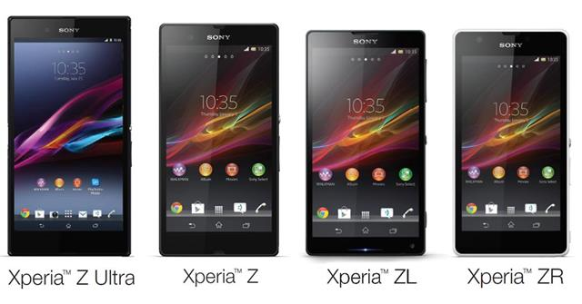 Android 4.3 cho Xperia Z, ZR, ZL