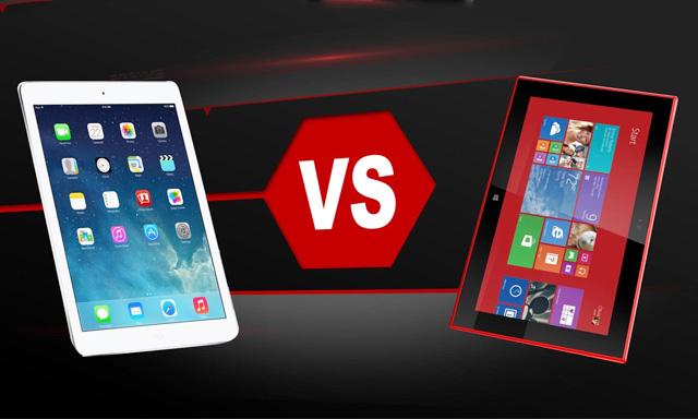 """Nokia chê màn hình iPad """"xấu mù"""""""