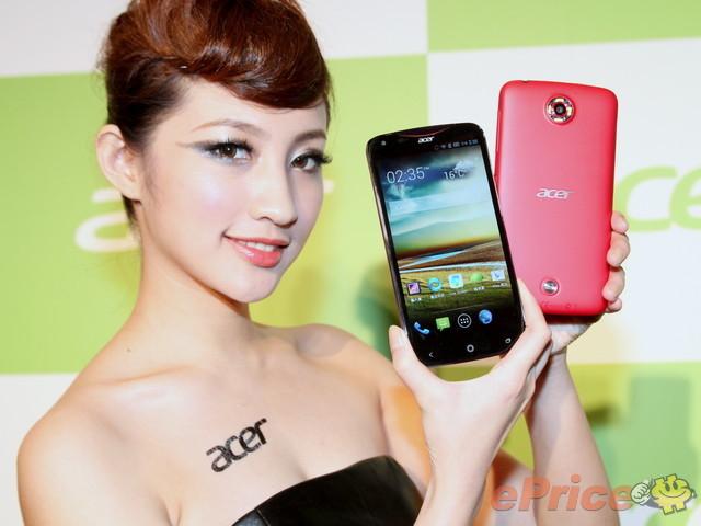 Liquid S1 trên tay PG gợi cảm của Acer