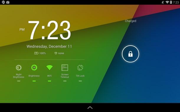Những việc nên làm ngay khi mua tablet Android hd widget