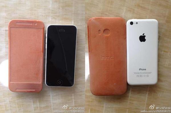 Mô hình HTC One 2 bằng nhựa