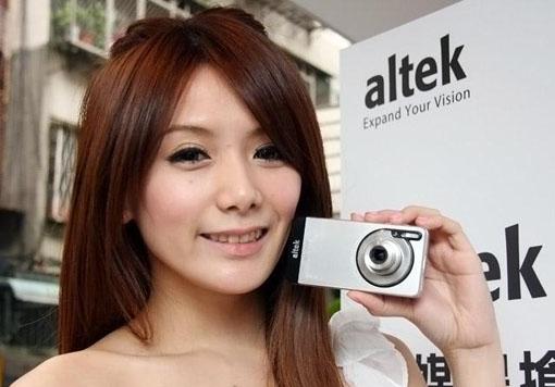 Altek chuyên sản xuất máy ảnh kỹ thuật số