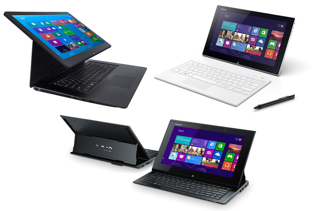 Laptop VAIO hiện đại