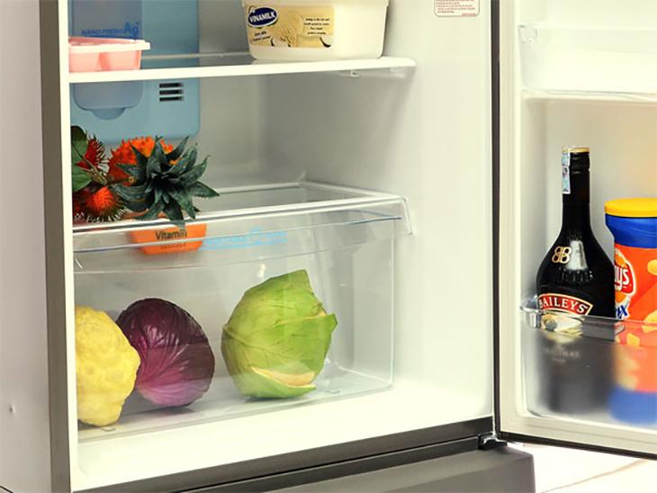Hầu như tủ lạnh nào cũng có một ngăn riêng để đựng rau