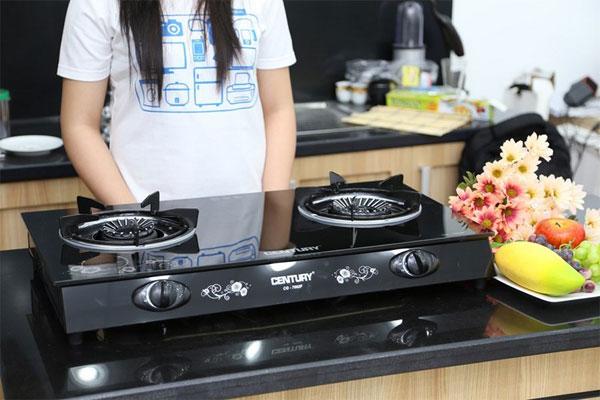 Sử dụng lại bếp bình thường sau khi lau chùi