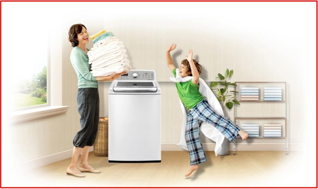 máy giặt lồng đứng tiết kiệm không gian và tiết kiệm điện