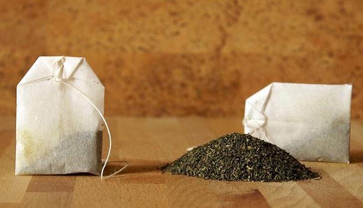 Túi trà cũng có khả năng hút mùi hôi trong tủ lạnh