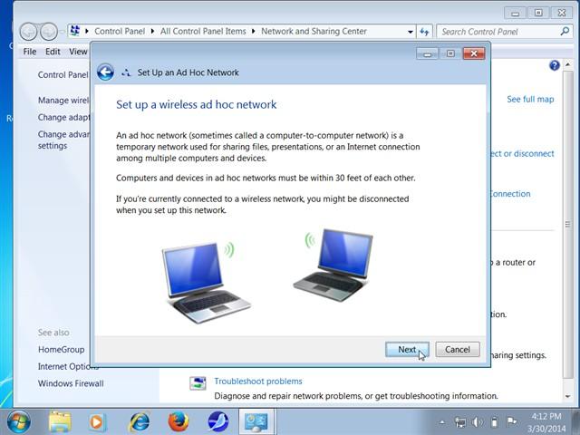hướng dẫn cách phát wifi từ laptop trên Windows