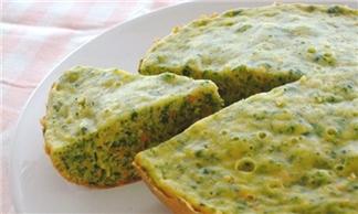 Làm bánh kếp rau củ đơn giản với nồi cơm điện