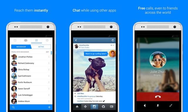 Bản cập nhật mới của Facebook Messenger