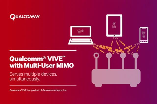Công nghệ Qualcomm MU-Mimo giúp tốc độ Wifi nhanh hơn gấp 3 lần
