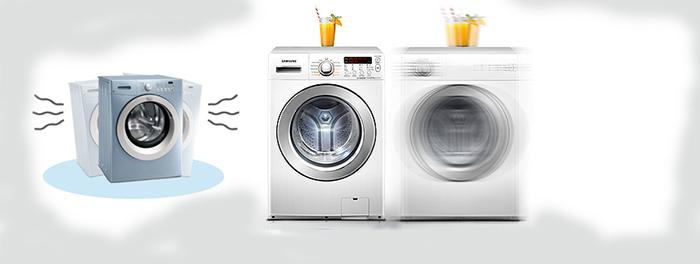 Máy giặt bị rung mạnh