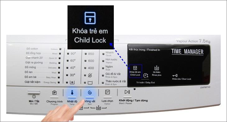 Chức năng khóa trẻ em làm vô hiệu hóa bảng điều khiển, khiến bạn không thể bấm nút Start
