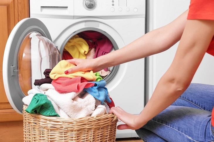 Máy giặt có thể bị quá tải nếu bạn cho vào quá nhiều đồ