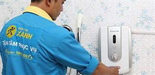 Hướng dẫn cách lắp đặt máy nước nóng trực tiếp