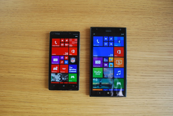 Lumia Icon và Lumia 1520