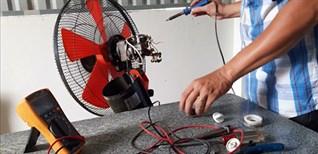 17 sự cố thường gặp khi sử dụng quạt điện. Cách tự sửa quạt điện tại nhà đơn giản