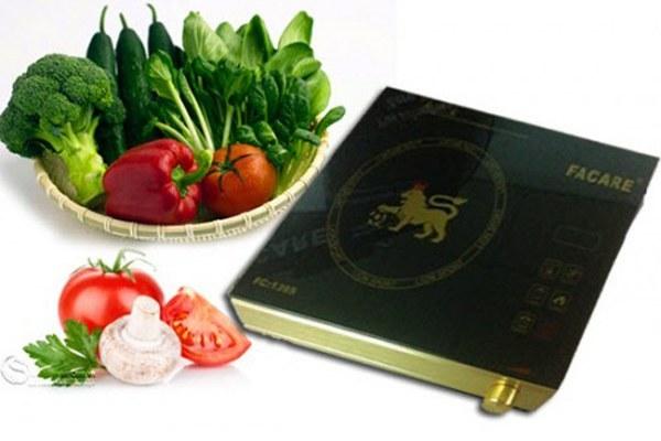 Thời gian nấu ăn giữa các loại bếp điện và bếp thường có sự khác nhau lớn