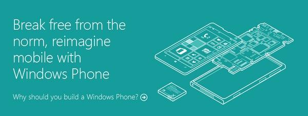 Microsoft sẽ chỉ cách chế tạo một chiếc điện thoại Windows Phone