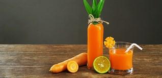 [Video] Cách làm nước ép cà rốt đẹp da, bổ mắt bằng máy xay sinh tố