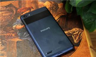 Philips W6618 smartphone Android có pin siêu khủng 5.300 mAh