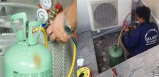 Khi nào máy lạnh cần nạp gas?