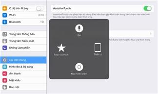 Cách kích hoạt nút Home ảo và thêm biểu tượng vào bàn phím trên iPhone / iPad