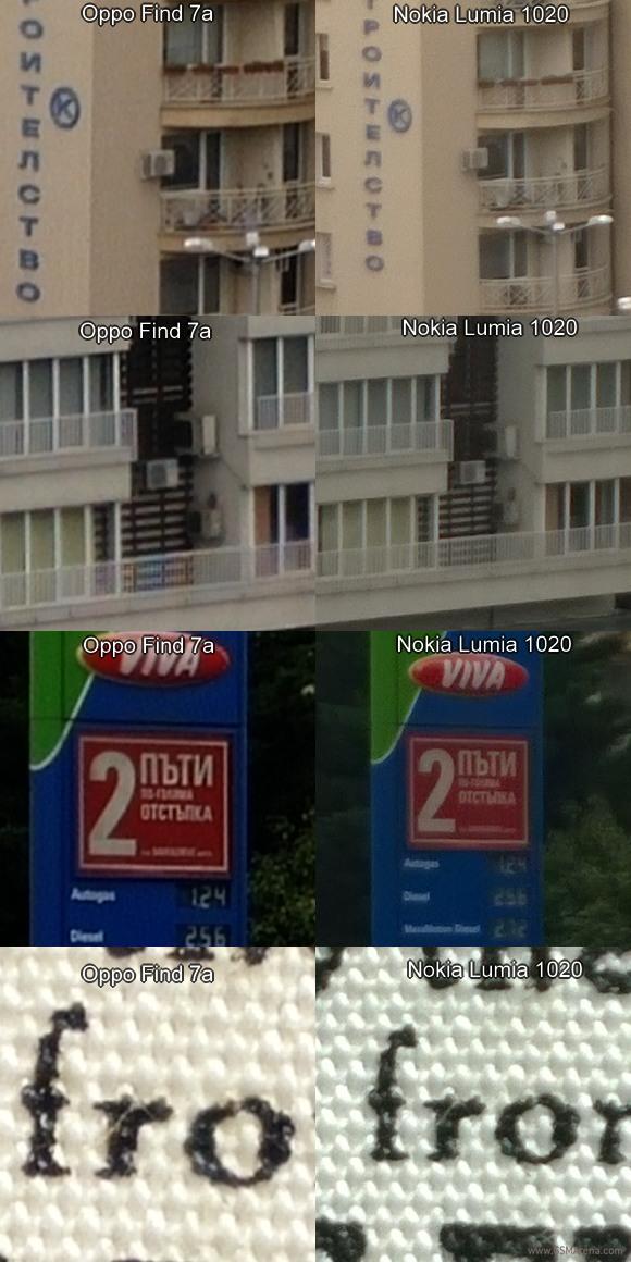 OPPO Find 7a đối đầu với camera của Nokia Lumia 1020