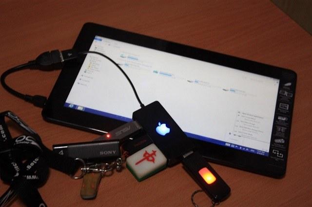 Kết nối với Flash USB như một bộ nhớ ngoài
