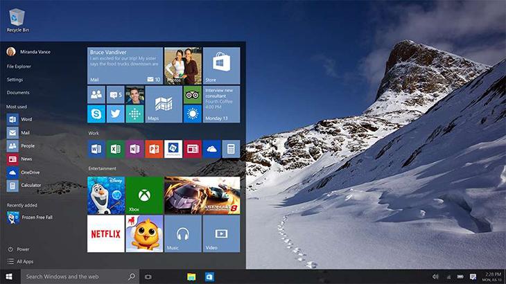 Phiên bản Windows 10 Home