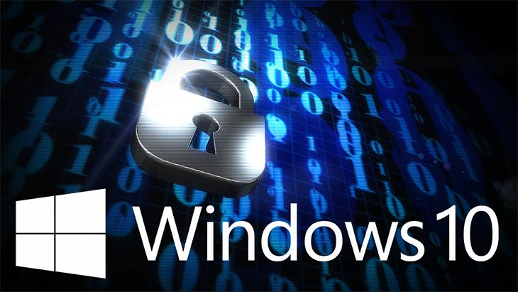Khả năng bảo mật của Windows 10