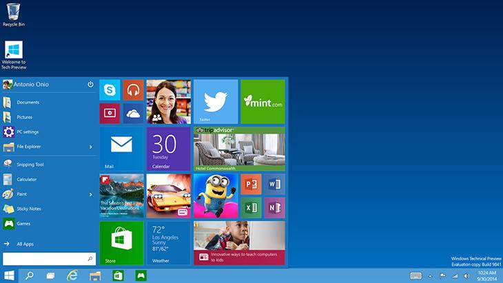 Windows 10 là gì? Các phiên bản của Windows 10