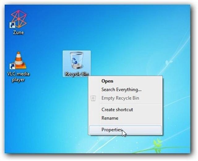 4 mẹo cần biết với Recycle Bin trên Windows 7