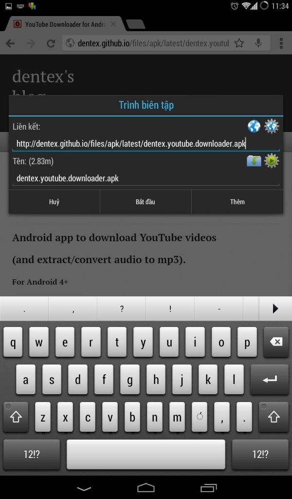 Cách tải video trên Youtube cực đơn giản từ máy Android