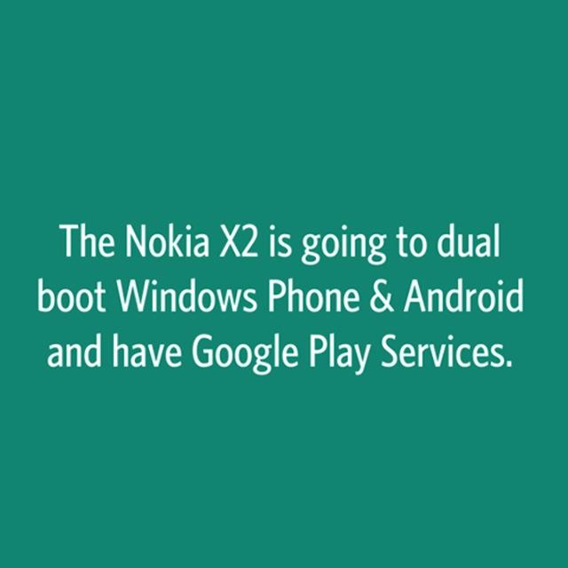Thông điệp khó tin về Nokia X2