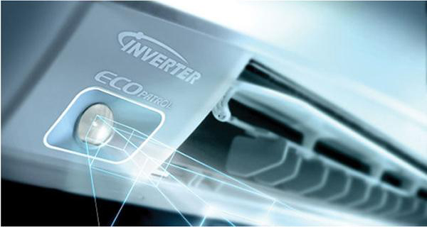 Máy lạnh ngày nay sử dụng công nghệ Inverter tiết kiệm năng lượng