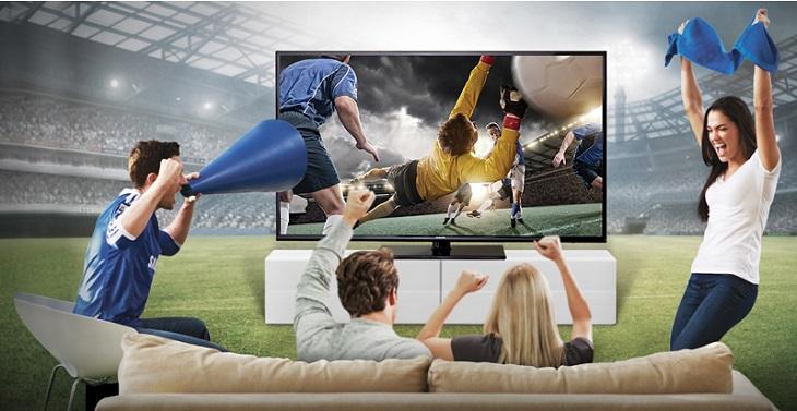 Cách chọn tivi xem bóng đá